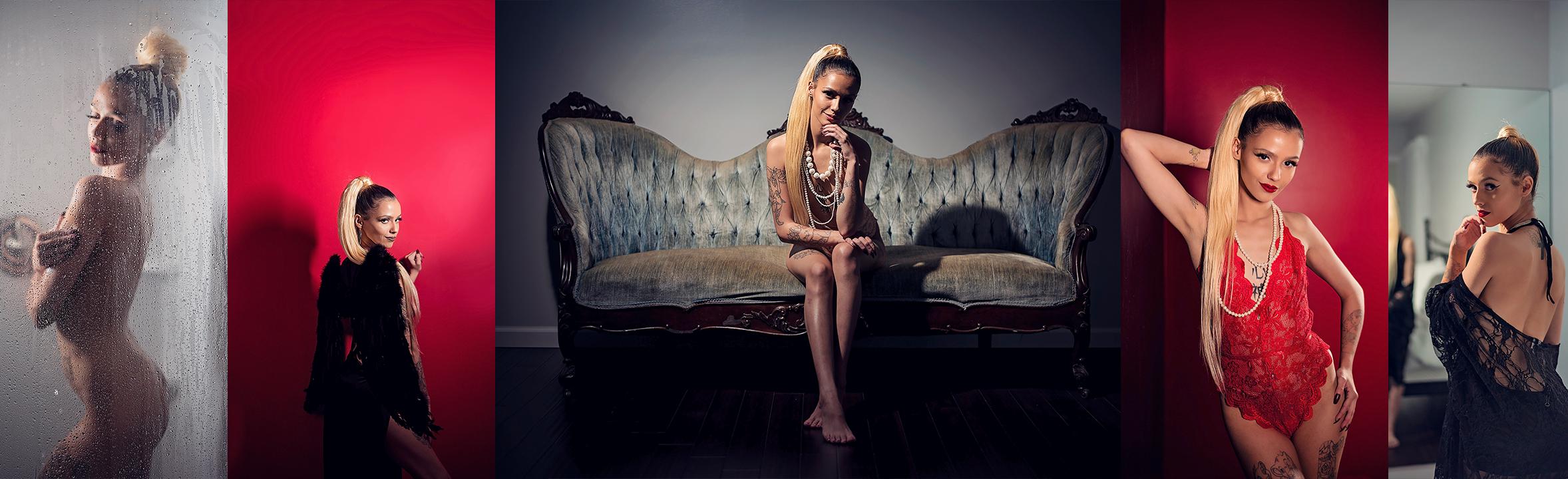 Dramatic Boudoir | Ashley's Night Session