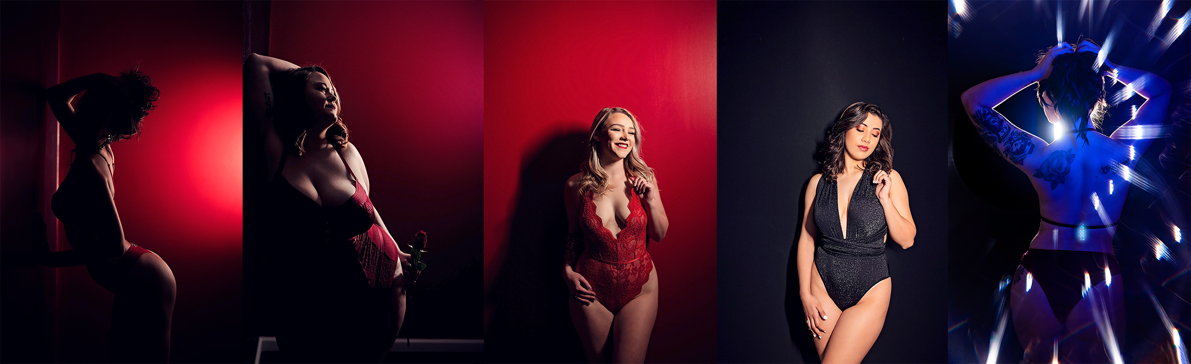 Red Room Boudoir Set Highlight